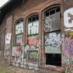 der Eingang ins Rangierhaus