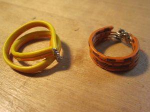 Ringe aus Flachkabeln